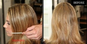 What is the difference between partial and full highlights?